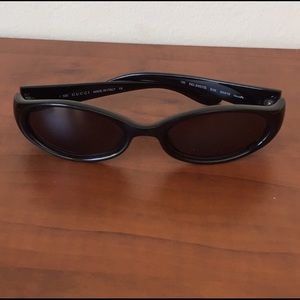 Vintage Gucci Slim Cat Eye Sunglasses
